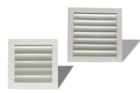 Plechové žalúzie k nástenným ventilátorom NV 200 - 300 - 400